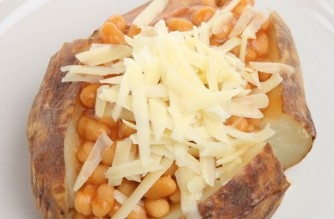 Jacket Potato with Beans